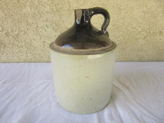 "Western Stoneware Crock Jar 10.5"" Tall"