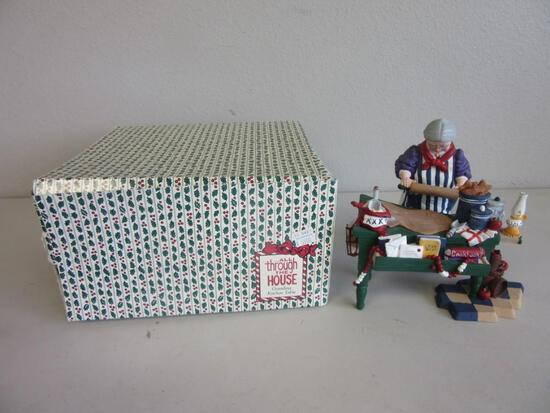 """DEPARTMENT 56 ...All Through the House """"Grandma Kitchen Table"""""""