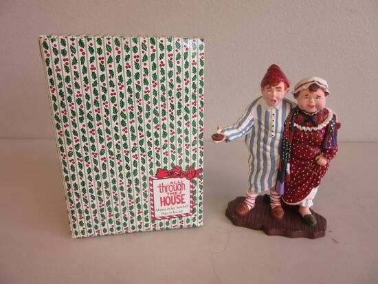"""DEPARTMENT 56 ...All Through the House """"Mama in Her 'Kerchief, Papa in His Cap"""""""