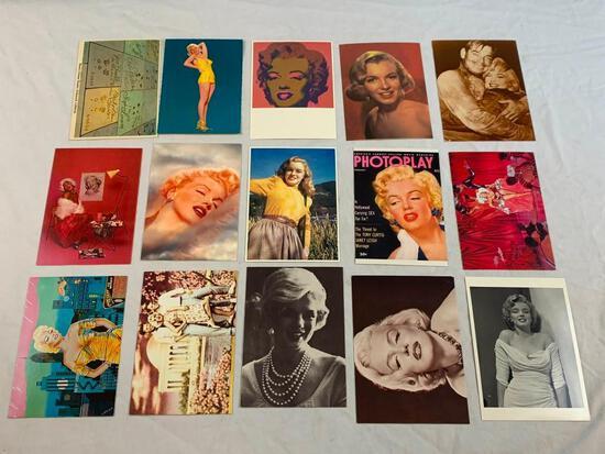 Lot of 15 Marilyn Monroe Postcards