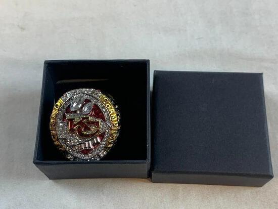2019 Kansas City Chiefs Championship Replica Ring NEW 11
