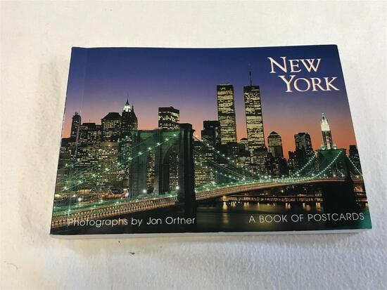 New York: A Book of 30 Oversized Postcards Photographs by Jon Ortner BOOK