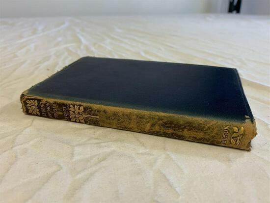 Vintage The Black Dwarf & A Legend of Montrose Book Sir Walter Scott 1917