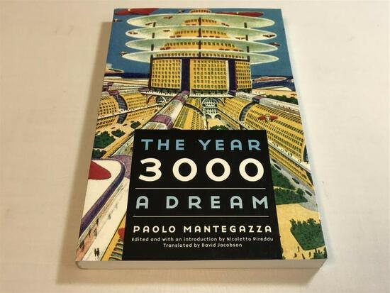 Bison Frontiers of Imagination: The Year 3000: A Dream by Paolo Mantegazza P/B