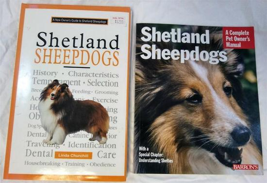 Lot of 2 Shetland Sheepdogs' Books: Complete Owner's Manual & New Owner's Guide
