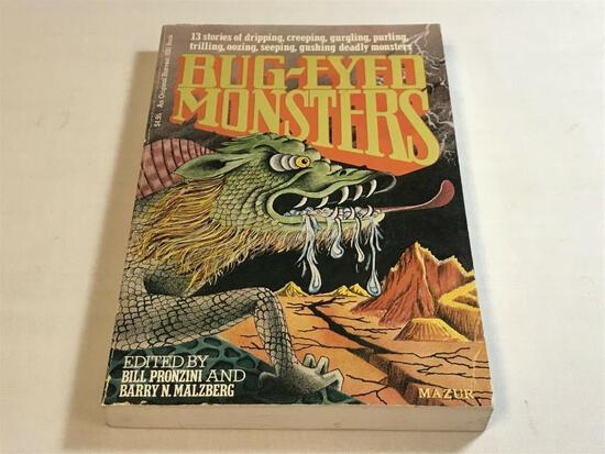 Bug-Eyed Monsters: 13 Stories/Edited by Bill Pronzini & Barry N. Malzberg - PB BOOK
