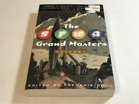 SFWA Grand Master: Vol. 1/Heinlein/Williamson/Simak/De Camp/Leiber - 1st Ed - PB