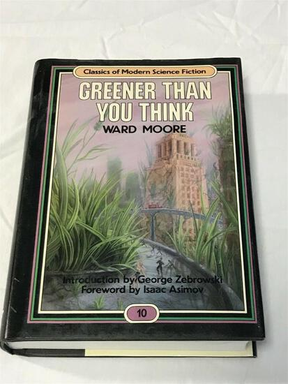 CLASSICS OF MODERN SCIENCE FICTION Greener Than You Think #10 Ward Moore 1st Ed