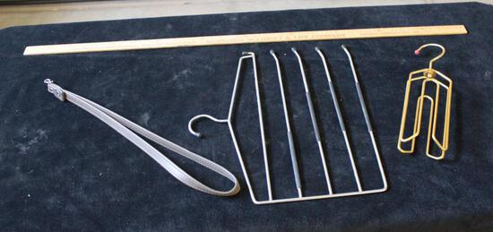Lot of miscellaneous Hangers and strap