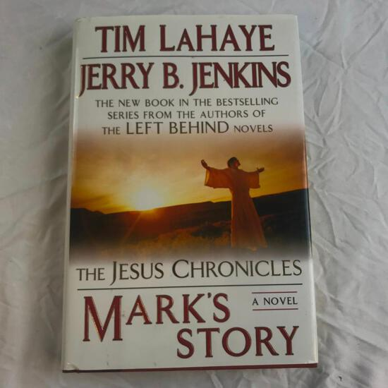 """""""The Jesus Chronicles: Mark's Story"""" Written by Tim LaHaye and Jerry B. Jenkins Hardcover"""