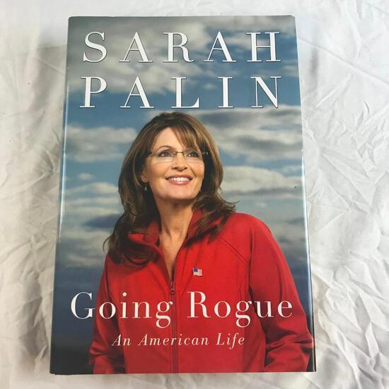 """Going Rogue: An American Life"" Written by Sarah Palin Hardcover"