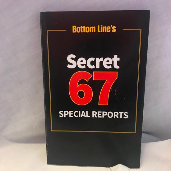 """Bottom Line's Secret 67 Special Reports"" Paperback"
