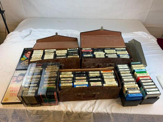 Large collection of 8-Track Tapes, Classic Rock, Country, Elvis and much more
