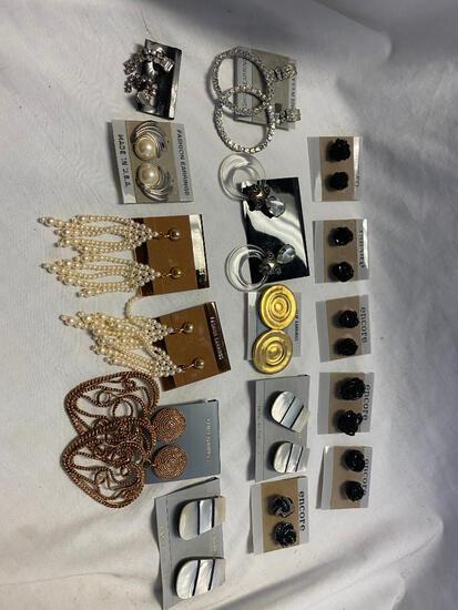 Lot of 16 Misc. Earrings