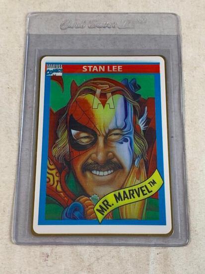 Limited Edition Mr. Marvel STAN LEE Gold Metal Card