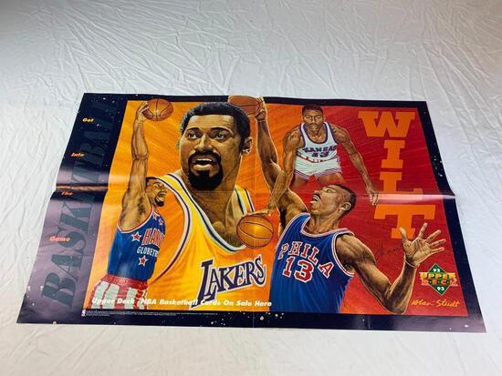 WALT CHAMBERLAIN1992-93 Upper Deck Basketball Promo Poster 22 x 34