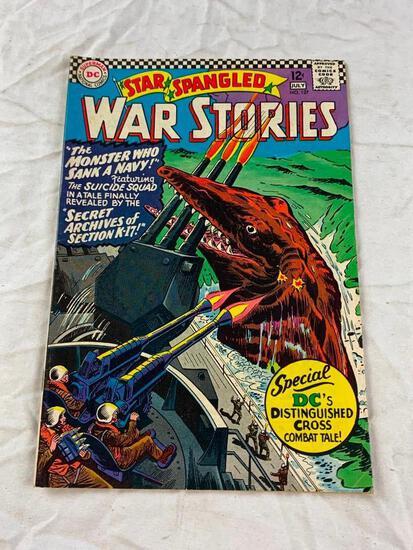 STAR SPANGLED WAR STORIES #127 DC Comics Silver Age 1966