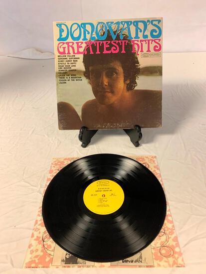 DONOVAN'S Greatest Hits LP Vinyl Album Record 1969