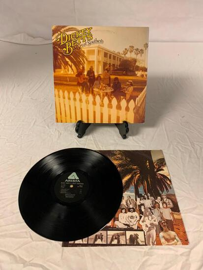 DICKEY BETTS & GREAT SOUTHERN Self-Titled LP Vinyl Album Record 1977