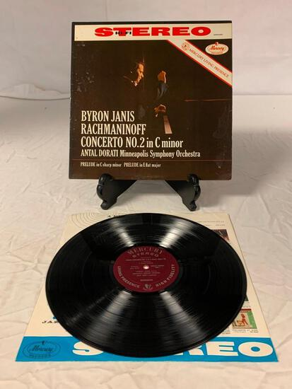 Byron Janis & Dorati - Rachmaninoff Concerto No. 2 LP Vinyl Album Record