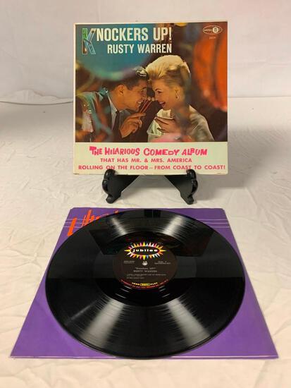 RUSTY WARREN Knockers Up LP Vinyl Album Record