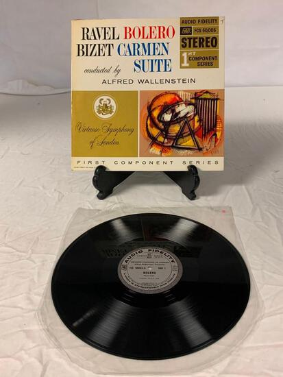 ALFRED WALLENSTEIN Ravel Bolero Bizet Carmen Suite LP Vinyl Album Record