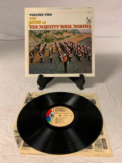Volume 2 The Sounds Of Her Majesty's Royal Marines LP Vinyl Album Record