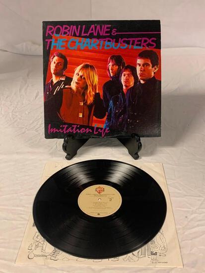 ROBIN LANE & THE CHARTBUSTERS Imitation Life LP Album Vinyl Record 1981