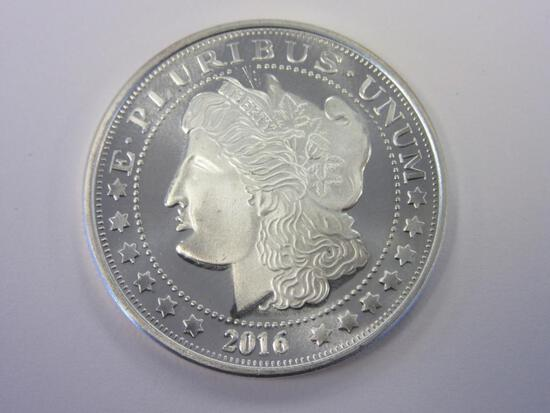 .999 Silver 1oz 2016 Liberty Head Bullion
