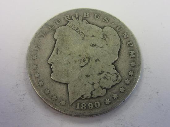 1890-O .90 Silver Morgan Dollar