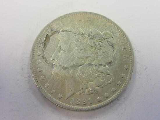 1891-O .90 Silver Morgan Dollar