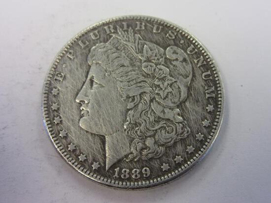 1889 .90 Silver Morgan Dollar