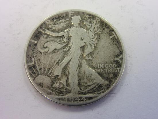 1944 .90 Silver Walking Liberty Half Dollar