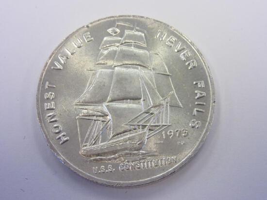 .999 Silver 1oz 1973 U.S.S. Constitution Bullion
