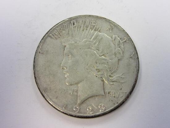 1923-S .90 Silver Peace Dollar
