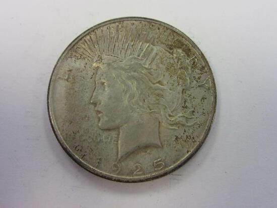 1925 .90 Silver Peace Dollar