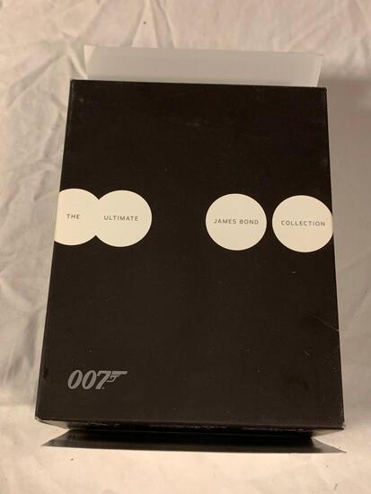 The Ultimate James Bond Collection 23-Disc BLU-RAY Set with Booklet