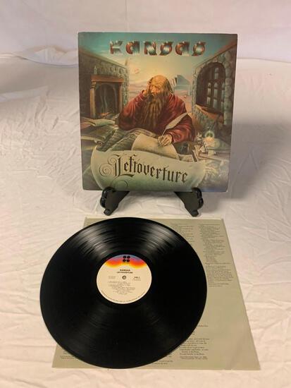 KANSAS Leftoverture LP Album Vinyl Record 1976