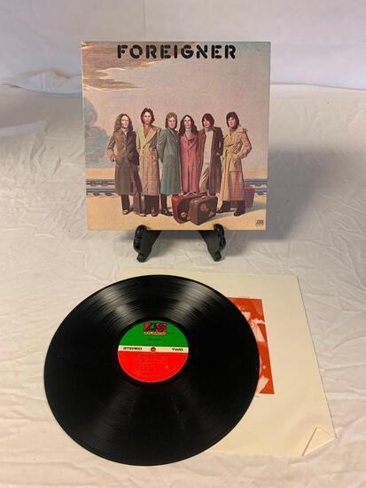 FOREIGNER Self Titled LP Album Vinyl Record 1977