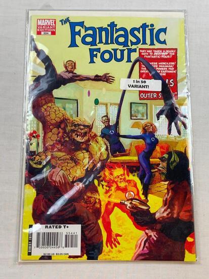 THE FANTASTIC FOUR #554 Marvel Comics Variant Edition 1 of 50 RARE