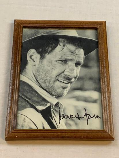 HARRISON FORD Indiana Jones AUTOGRAPH 5x7 Framed Photo