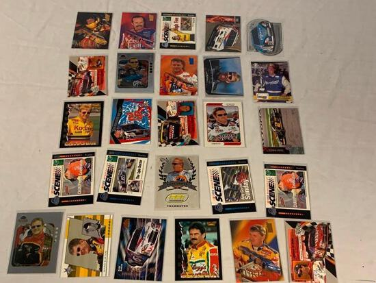 Lot of 26 NASCAR Trading Cards STARS
