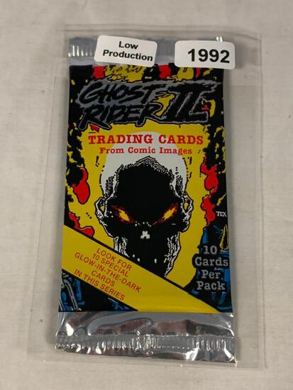 1992 Comic Images GHOST RIDER II Sealed Pack Of Prism Cards Low Production