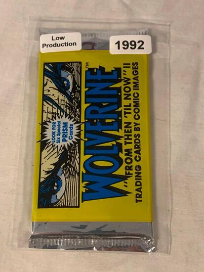 1992 Comic Images WOLVERINE Sealed Pack Of Prism Cards Low Production