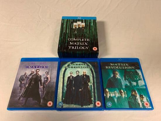 The Complete MATRIX Trilogy BLU-RAY Movies