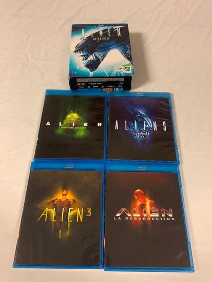 ALIEN Anthology 4 Movie BLU-RAY Set French, English