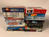 Lot of 19 DVD Season One Box Sets-Seinfeld, Dexter, Sopranos, House, Heroes, Lost, Smallville
