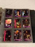1991 Impel Terminator 2 Judgement Day 140 Card Set in binder with stickers and Sequence Cards
