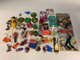 Box lot of Pop Culture Toys and more