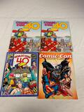 Lot of 4 Comic-Con Events Guides-2009, 2010